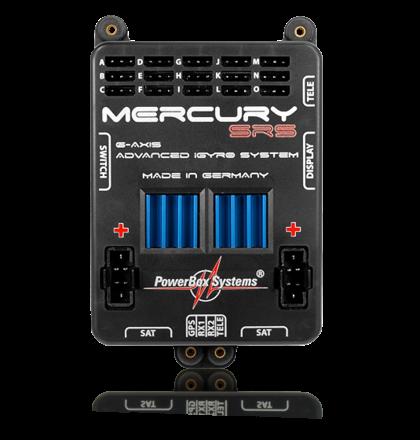 Powerbox Mercury SRS Stormversorgung inkl.OLED Display ohne GPS