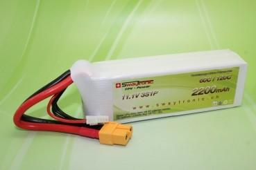 Sway-FPV LiPo 3S 11.1V 2200mAh 60C/120C XT60
