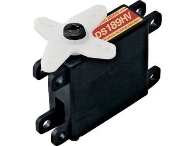 JR Propo Servo DS189HV 6V/7.4V 0.2/0.16sec/60° 3.5/4.3kgcm 2BB MG