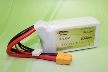 Sway-FPV LiPo 3S 11.1V 1300mAh 60C/120C XT60