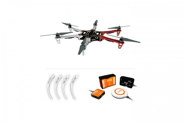 DJI Flame Wheel F550 ARF-Kit Naza V2+GPS +Landing Gear Combo