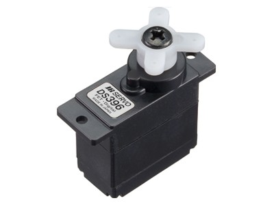 JR Propo Servo DS396 MG 0.13/0.16sec/60° 2.3/2 kgcm BB 4.8V