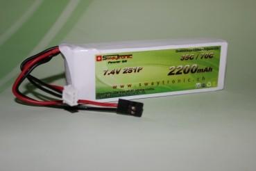Swaytronic LiPo 2S 7.4V 2200mAh 35C/70C JR