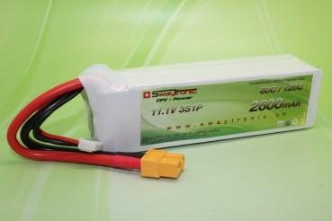 Sway-FPV LiPo 3S 11.1V 2600mAh 60C/120C XT60