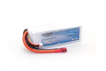 ICED POWER LiPo 6S 22.2V 3300mAh 45C/90C T-Plug